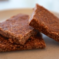 Chocolate maca energy bars